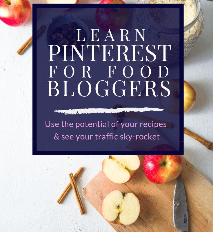 Learn Pinterest tips to grow your traffic, perfect for food bloggers and food photographers