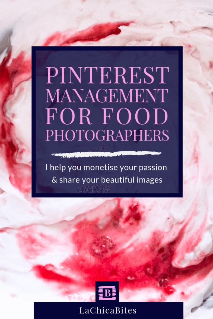 Pinterest manager services for food bloggers and food photographers