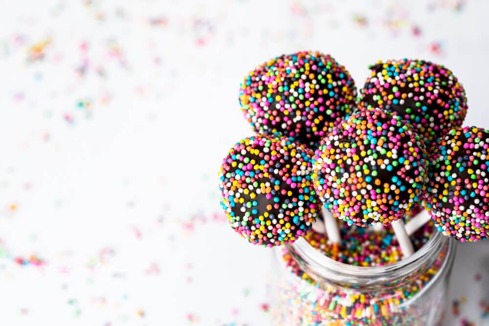 Food Photography lollipops