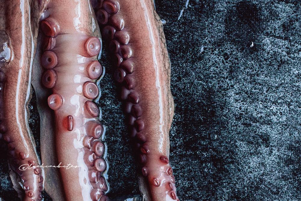 LaChicaBites_FoodPhotography_Octopus