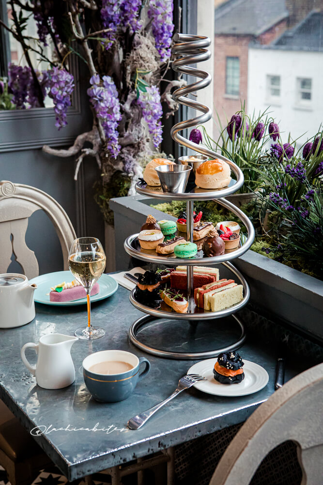 Afternoon Tea in London. @lachicabites food photographer