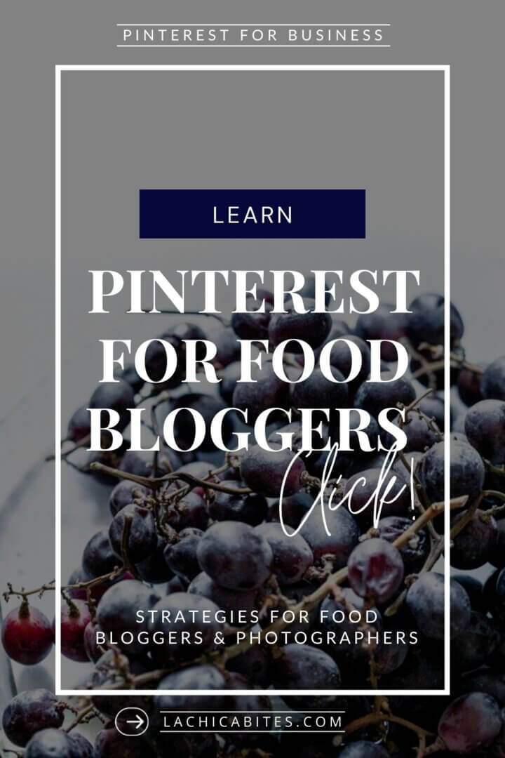 Learn Pinterest tips and find Pinterest advice for food bloggers and food photographers. #foodphotography #bloggingtips #foodstyling #foodphotographytutorials | LaChicaBites.com