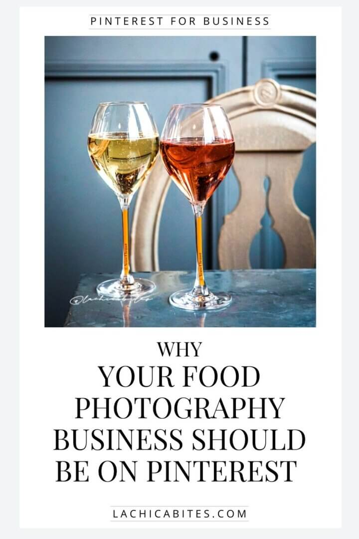 Whether you have a food blog with recipes, a food product or you are a photographer you should be using Pinterest to attract more audience! @lachicabites