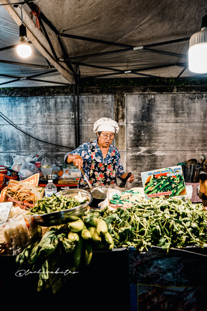Chiang Mai Food Market Photography